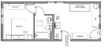 One Bedroom Villa Layout