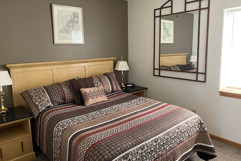 One Bedroom Queen Size Bed