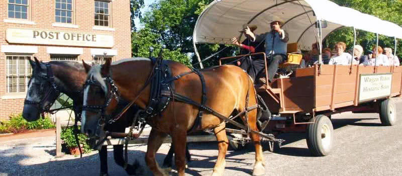 Wagon Rides in Nauvoo, IL