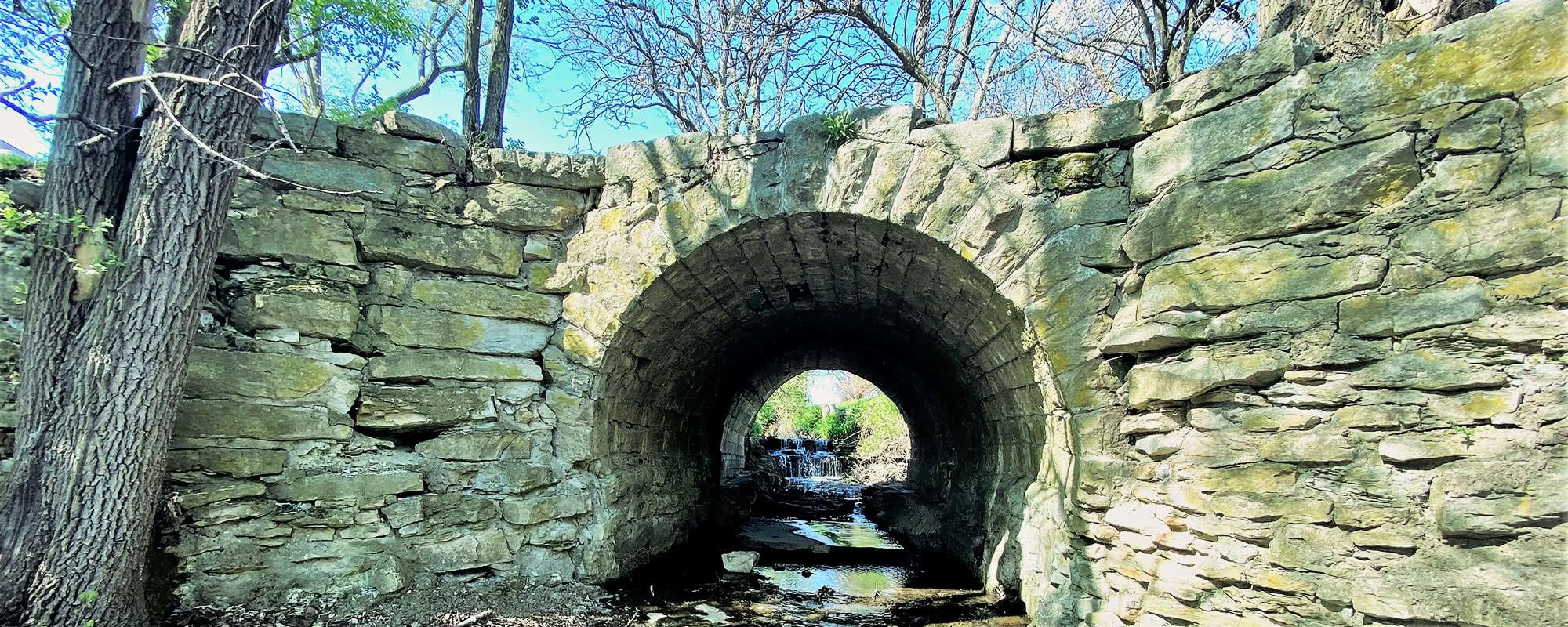 Stone Arch Bridge in Nauvoo IL